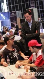 Edgar Stuchly, cerca de los Team Pro de PokerStars