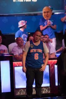 Jerry Wong, tras ser eliminado en Las Vegas