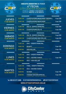 Programa del CAP de Rosario en Argentina