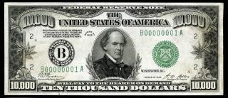 Billete de 10.000 dólares de Estados Unidos