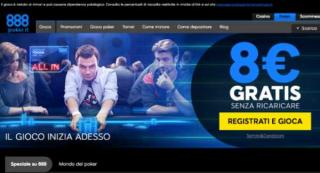 888poker lanzamiento italia