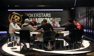 Mesa final del Main Event del PSC Barcelona