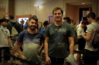 Alfonso y Jorge en las WSOP