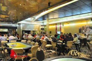 Sala de Madero Poker en Casino Buenos Aires