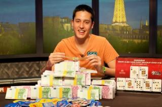 Adrián Mateos, en las WSOP Europe 2013