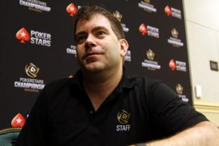 Neil Johnson, Director de Eventos en Vivo de PokerStars