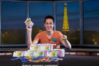 Adrián Mateos ganó su primer grande en las WSOPE