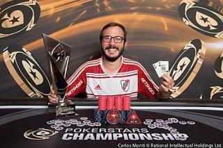 Pedro Cairat se llevó un trofeo para Argentina