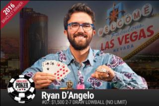 RYAN DANGELO 2 7 DRAW LOWBALL