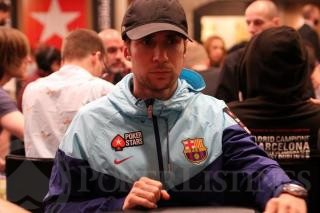 Jeff Gross jugando el PSC Barcelona