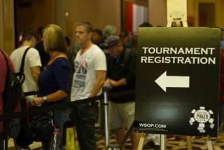 ¿Quiéres esperar colas en las WSOP 2017?