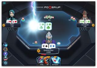 Acción en el Power Up de PokerStars