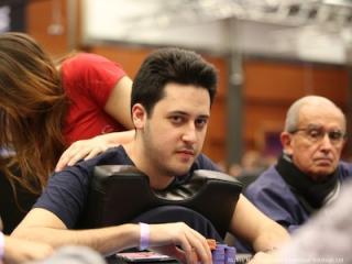 Adrián Mateos en el High Roller