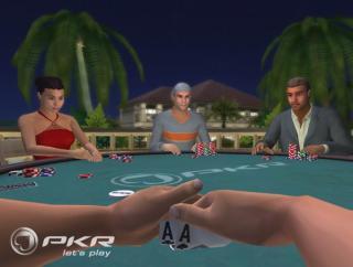 El poker en 3D con PKR Poker