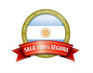 Confía siempre en salas seguras de Argentina