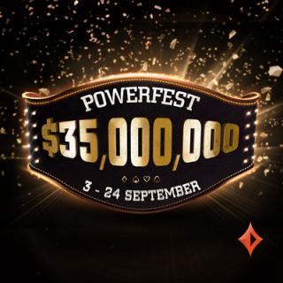 Partypoker te trae las Powerfest en Septiembre