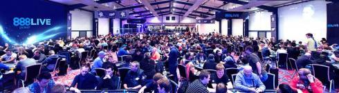 El King's Casino se llenará para el 888Live