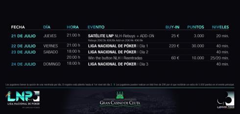 La LNP se traslada hasta el Gran Casino de Ceuta