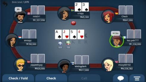 appeak poker mesa