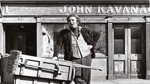 El Kavanagh era conocido como el Pub de Los Enterradores
