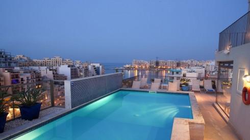 Vistas de Malta desde uno de los Hoteles de la BOM