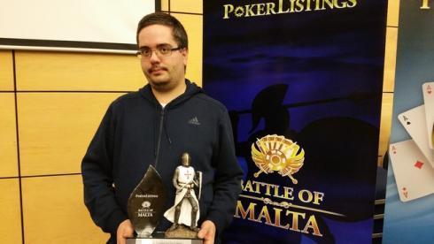 Jahn Terje, campeón del Crazy Pineapple