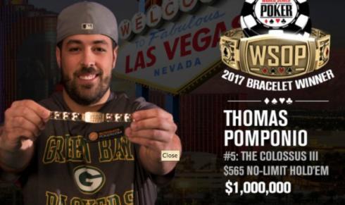 Thomas Pomponio, ganador del The Colossus