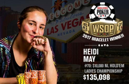 Heidi May WIN