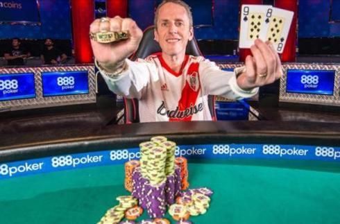 Andrés Korn se coronó en Las Vegas