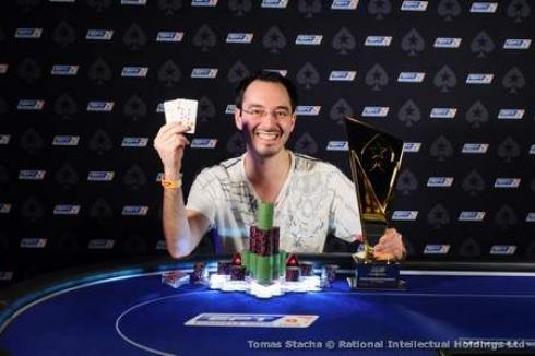 William Kassouf se llevó el High Roller del EPT Praga