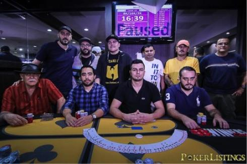 Mesa final del Mega Stack del Winners Club