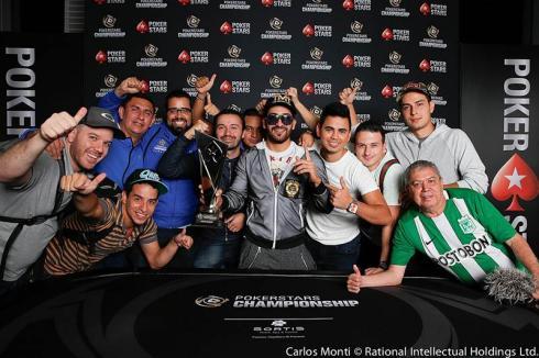 Camilo Posadas se llevó el PS National Championship