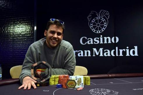 Carlos Mir, campeón del LÑP Madrid