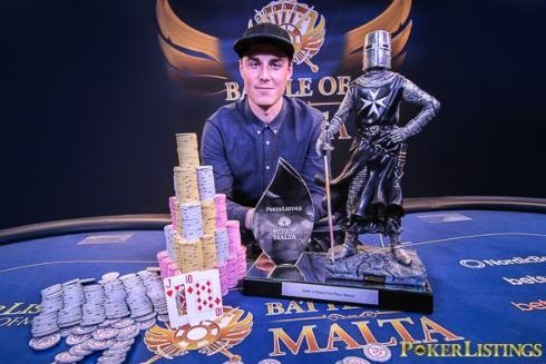 Robert Berglund, Campeón de la Battle of Malta 2016