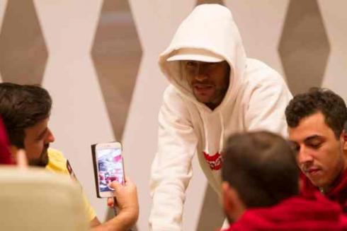 Neymar Jr. en Las Vegas