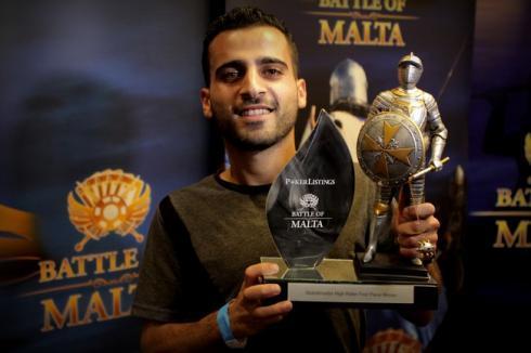 Kework Besiktasliyan, Campeón del High Roller de la BOM 2016