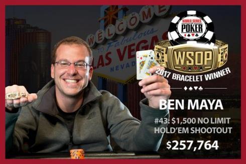 Ben Maya se hizo con el Evento #43