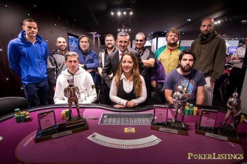 Mesa final del Grandmaster High Roller