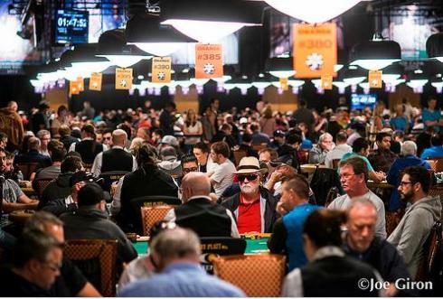 Sala amazon en las World Series of Poker