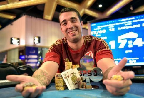 Daniel Arribas, ganador del Crazy Pineapple
