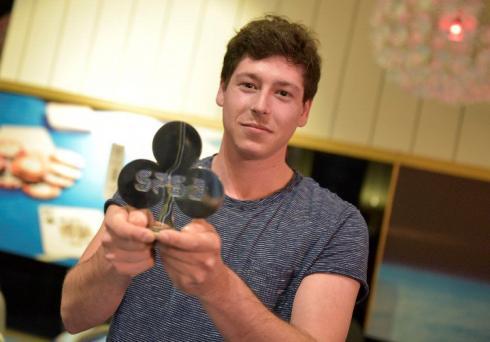 Toni Gotarra, campeón del Win the Button