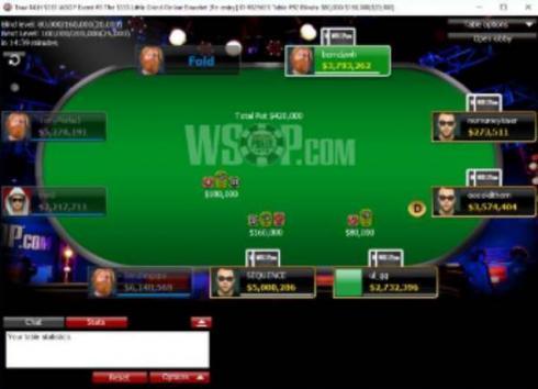 Las WSOP celebraron su primer evento online