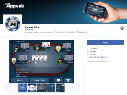 poker facebook appeak poker