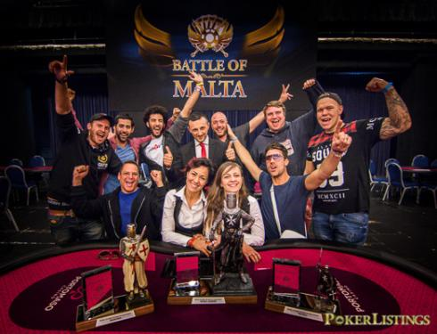 La Mesa Final de la Battle of Malta 2017