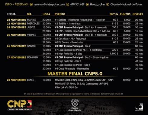 Conoce las pruebas de la Gran Final del CNP 5.0