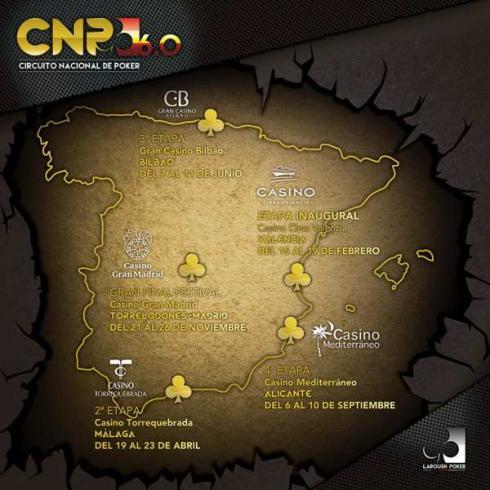 Recorrido del CNP 2017