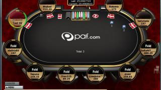 PAF Poker Table