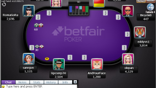 Betfair Poker Mesa