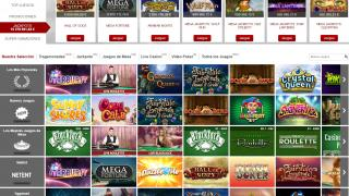 Betclic Casino Lobby