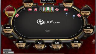 PAF Poker Mesa